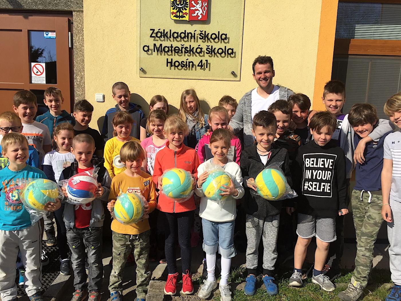 nadační fond český volejbal projekt hosín