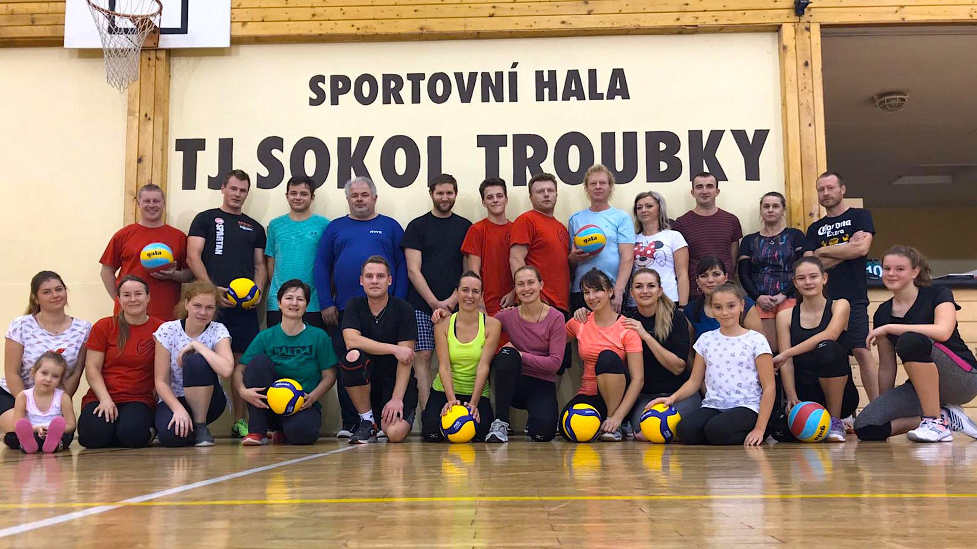 nadační fond český volejbal 100 let troubky
